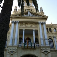 Photo taken at Málaga City Hall by JL C. on 7/24/2012
