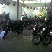 Photo taken at Moto&Trilha Honda by Victor V. on 4/13/2012