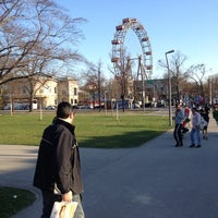 Photo taken at Praterstern by Irakli N. on 3/25/2012