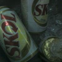 Photo taken at Strike Boliche & Karaoke by Iara F. on 6/6/2012