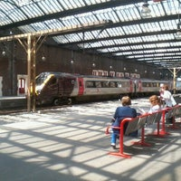 Photo taken at Stoke-on-Trent Railway Station (SOT) by Alice C. on 5/23/2012