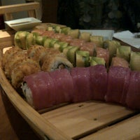 Photo taken at Sushihana by Mauro M. on 8/1/2012