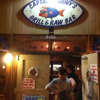 Photo taken at Captain Groovy's Grill and Raw Bar by Eric H. on 9/1/2012