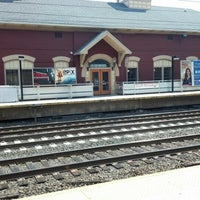 Photo taken at Metro North - South Norwalk Train Station by Todd H. on 9/1/2012
