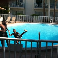 Photo taken at La Quinta Inn Clearwater Central by Lakisha W. on 4/15/2012