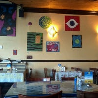 Photo taken at Sky Blue Cafe by Christopher J. on 3/3/2012