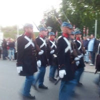 Photo taken at Landsoldaten by Helle L. on 7/5/2012