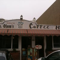 Photo taken at Mrs. Olsen's Coffee Hut by Doug M. on 8/1/2012