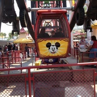 Photo taken at Mickey's Fun Wheel by Lynne L. on 4/27/2012