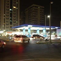 Photo taken at ADNOC Khalidiyah by Amin A. on 3/19/2012