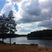Снимок сделан в Пляж на реке Оредеж пользователем Мария Б. 6/13/2012