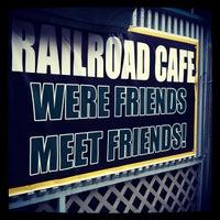 Photo taken at Railroad Café by Suzanne B. on 5/14/2012
