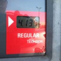 Photo taken at Chevron by Aleasha P. on 8/10/2012