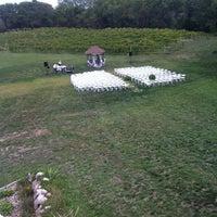 Photo taken at White Oak Vineyards by Jacob H. on 9/1/2012