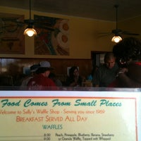 Photo taken at Sally's Waffle Shop by C. A. on 8/3/2012