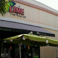 Photo taken at Lime Fresh Grill by Audrey Pamela H. on 6/21/2012