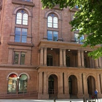 Photo taken at Cooper Union Great Hall by Emily B. on 6/7/2012