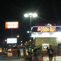 Photo taken at Cook-Out by Travis G. on 3/25/2012