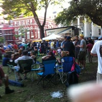 Photo taken at Lafayette Square by Eileen W. on 5/9/2012