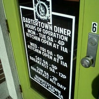 Photo taken at Bartertown Diner by David K. on 9/12/2012