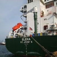 Photo taken at Main Gate Kuantan Port by ahmad f. on 3/29/2012