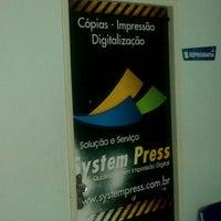 Photo taken at Copiadora System Press by Fabio B. on 5/24/2012