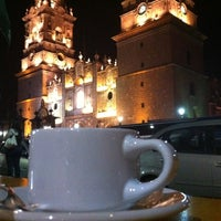 Photo taken at Café Europa by Yunuén V. on 4/22/2012