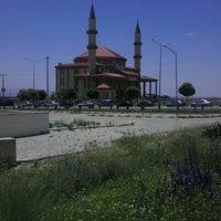 Photo taken at Toki Yunus Emre Cami by Oğuzhan Y. on 6/29/2012
