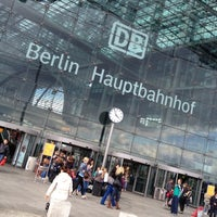 Photo taken at Berlin Central Station by Grad v. on 5/17/2012