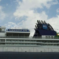 Photo taken at Norwegian Epic by @24K on 2/25/2012