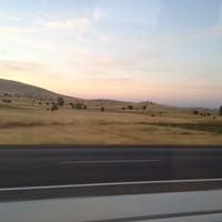 Photo taken at İzmir - Uşak Yolu by Esra Ç. on 8/17/2012