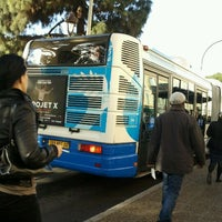 Photo taken at Arrêt J. C. Bermond by Iarla B. on 3/12/2012