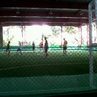 Photo taken at Bywi futsal by Dindriani T. on 6/6/2012