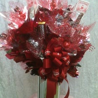 Photo taken at Sugar Shack Candy Bouquet by Shirley B. on 2/10/2012