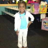 Photo taken at Starlight Skate Rink by Tonya G. on 4/15/2012