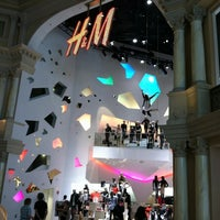 Photo taken at H&M by Bryn T. on 8/10/2012