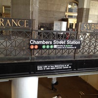 Photo taken at MTA Subway - Brooklyn Bridge/City Hall/Chambers St (4/5/6/J/Z) by Vic L. on 3/5/2012