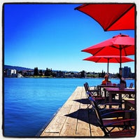 Photo taken at The Lake Chalet Seafood Bar & Grill by Florentina C. on 7/28/2012