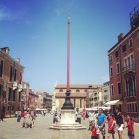 Photo taken at Campo San Stefano by Kate B. on 5/31/2012