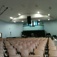 Photo taken at Igreja Batista Da Paz Barreiro by Thiago M. on 3/18/2012