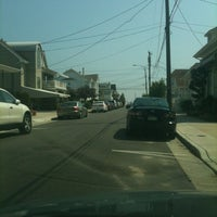 Photo taken at Washington Ave Beach (Ventnor) by Fred D. on 8/31/2012