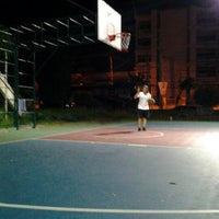 Photo taken at AIS Basketball Court by Maetee L. on 8/22/2012