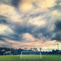 Photo taken at Annerley Football Club by Lobo on 3/27/2012