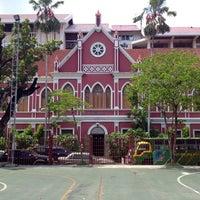 Photo taken at Debsirin School by Phupat D. on 6/9/2012