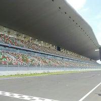Photo taken at Buddh International Circuit by Ankit L. on 9/10/2012