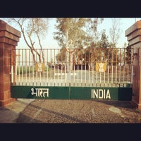 Photo taken at Wagah Border - India Pakistan Border by The Story Teller on 5/6/2012