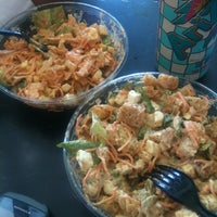 Photo taken at City Salads by Laura Francelia G. on 8/27/2012