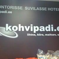 Photo taken at kohvipadi.ee by Elena L. on 8/27/2012