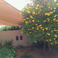Photo taken at Al Maha Desert Resort & Spa by Hari P. on 4/23/2012