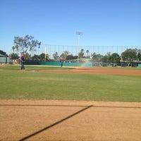 Photo taken at Dedeaux Field by Juan M. on 2/10/2012